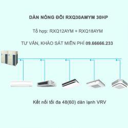 Điều hòa trung tâm Daikin VRV A RXQ30AMYM 30HP 1 chiều
