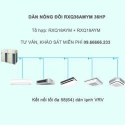 Điều hòa trung tâm Daikin VRV A RXQ36AMYM 36HP 1 chiều