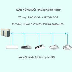 Điều hòa trung tâm Daikin VRV A RXQ40AMYM 40HP 1 chiều