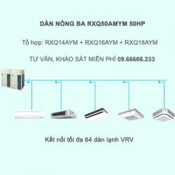 Điều hòa trung tâm Daikin VRV A RXQ50AMYM 50HP 1 chiều