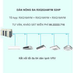 Điều hòa trung tâm Daikin VRV A RXQ52AMYM 52HP 1 chiều