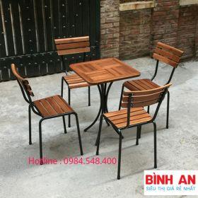 bàn ghế ngoài trời Fansipan- 4G