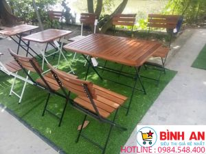 bàn ghế cafe Fansipan