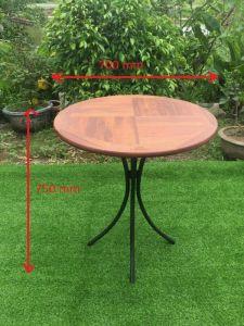 Bàn ghế cafe Fansipan tròn 70cm