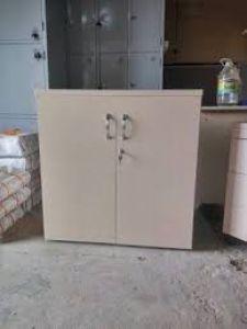 Tủ tài liệu gỗ thấp 2 cánh mới 100%