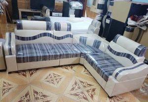 Sofa góc da pha nỉ mới 100% giá rẻ