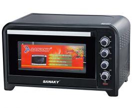 Lò nướng Sanaky VH-809SW (Màu đen)