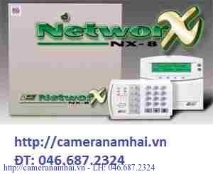 Bộ báo cháy-Báo trộm trung tâm NetworX NX-8