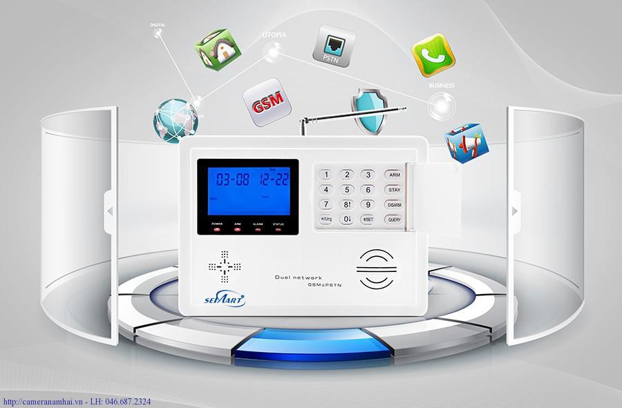 Báo Động Semart Home GSM-FES-74