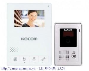 Chuông cửa Kocom KCV-434SD + KC-C60