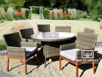 Vì sao nên chọn bàn ghế cafe nhựa giả mây sân vườn