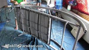 Sản xuất ghế hồ bơi MT488 tại xưởng Minh Thy Furniture