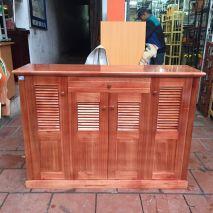 Tủ giầy gỗ xoan TG12