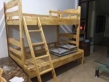 giường tầng gỗ thông