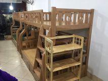 giường tầng gỗ sồi GT02