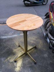 bàn tròn chân trụ CF001