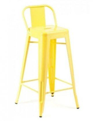 ghế bar tolix vàng