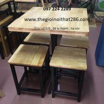 bàn ghế  nhà hàng NH03