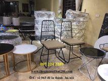 ghế sắt nghệ thuật NT1
