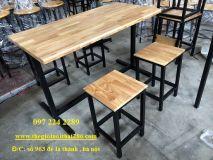 bàn ghế nhà hàng NH3