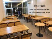 bàn ghế nhà hàng NH4