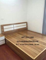 giường gỗ 1620T