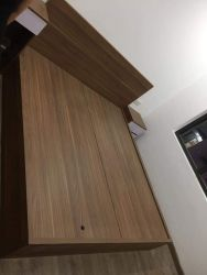 giường gỗ 1m6 x2m