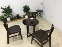 Bộ Bàn Ghế CF60 + 03 ghế mango