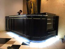 Quầy Bar Pha Chế Gỗ Tự Nhiên QBTC
