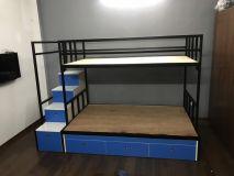 giường tầng sắt GTX