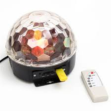 QUẢ CẦU NẤM 703 LED CRYST ALMAGIC BALL LIGHT