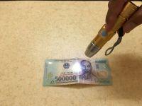 Đèn Pin Soi Tiền Giả - Giấy Tờ Giả - Bắng Lái Giả
