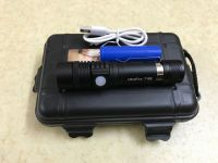 Đèn pin siêu sáng Ultrafire T168 giá rẻ sạc USB
