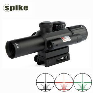 Ống ngắm Spike M6 LS 4x25 có laser
