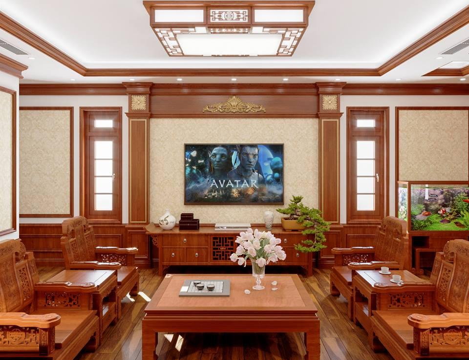 thiết kế nội thất gỗ tại vinh