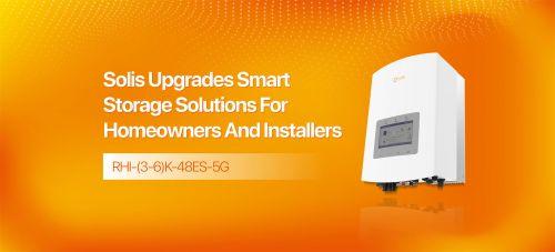 Nâng cấp giải pháp lưu trữ inverter solis cho chủ nhà và người lắp đặt