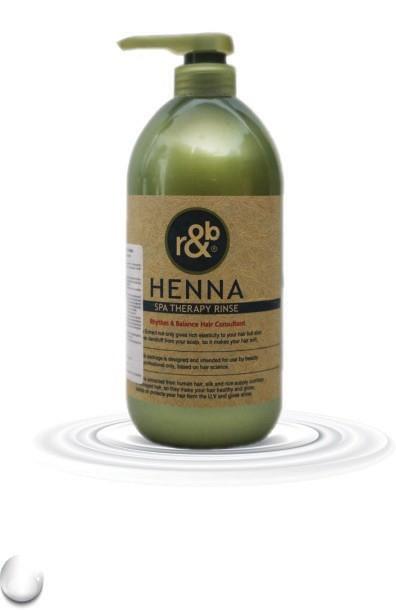 Dầu Gội Thảo Dược r&b Henna Spa Therapy Shampoo & Rinse 1000ml