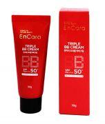 KEM TƯƠI ENCARA TRIPLE BB SPF50 Kem chống nắng – Dưỡng trắng & Kem nền che khuyết điểm