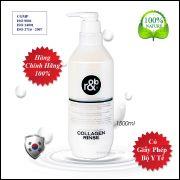 Dầu Xả Ngăn Rụng Tóc Thảo Dược R&B Phyton Therapy Collagen Shampoo & Rinse 1500ml