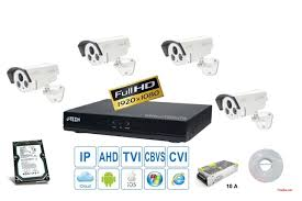 TRỌN BỘ 04 CAMERA HDTVI J.TECH (1.0MP)