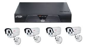 TRỌN BỘ 04 CAMERA HDTVI J.TECH (2.0MP)