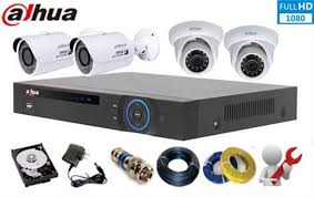 TRỌN BỘ 04 CAMERA IP DAHUA 2.0MP