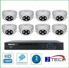 TRỌN BỘ 08 CAMERA HDTVI J.TECH (1.0MP)