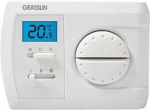 Thiết bị điều khiển nhiệt độ phòng Grasslin THERMIO713