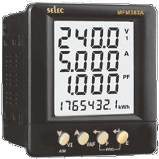 Đồng hồ điện đa chức năng MFM383A