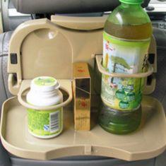 Khay nhựa đựng đồ ăn lưng ghế ô tô