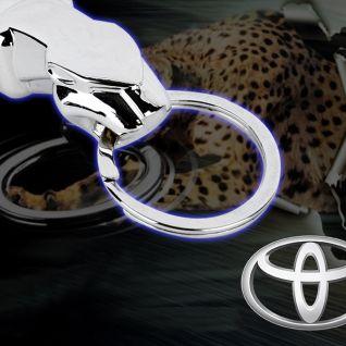 Móc khóa báo Toyota