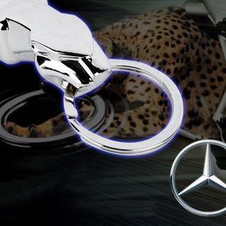 Móc khóa báo Mercedes