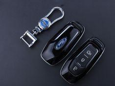 Ốp vỏ chìa khóa carbon- Ford