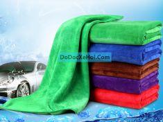 Bộ 5 khăn rửa xe ô tô 30 x 70 cm